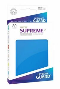 BLUE Pack of 50 Ultimate Guard SUPREME UX MATTE Standard Card Sleeves