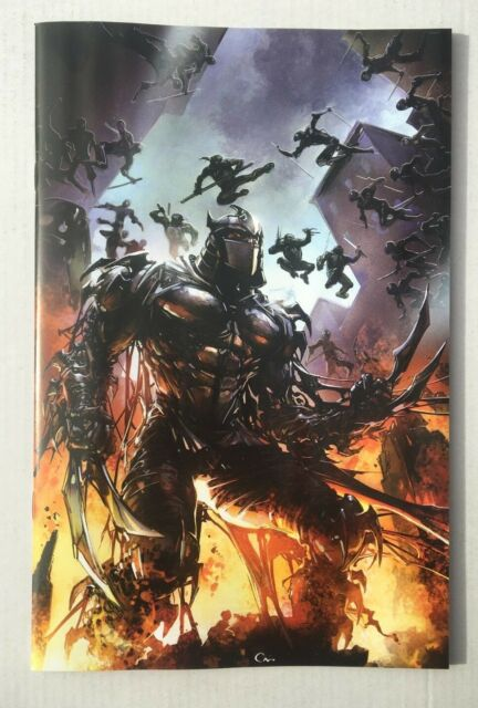 Tmnt Shredder In Hell 1 Planet Awesome Variant Sajad Shah Cover