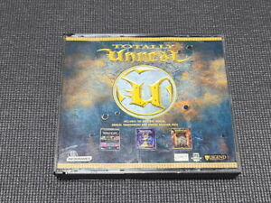 Totally Unreal Tournament PC Game Korean Version Windows CD ROM Rare