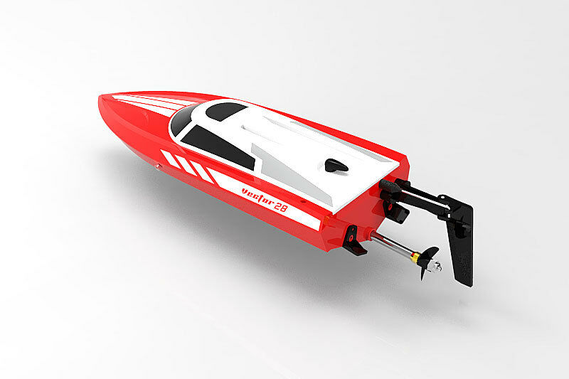 Volantex VECTOR 28 RED RED RED Mini Racing Boat - Ready To Run with Charger & Battery 3ee848