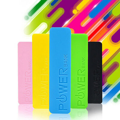 USB 2600Mah Portable External Battery Charger Power Bank for Cell Mobile Phone