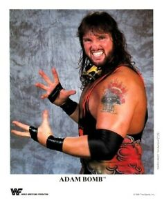 WWE-ADAM-BOMB-P-254-OFFICIAL-LICENSED-8X10-ORIGINAL-PROMO-PHOTO-VERY-RARE