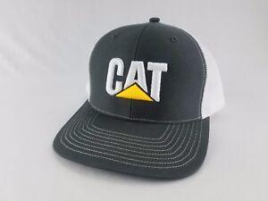 Caterpillar Cap CAT Construction Embroidered Logo Hat Tractor Trucker Equipment