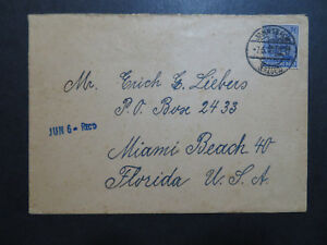 Germany-1947-Russian-Zone-50pf-On-Cover-Z10119