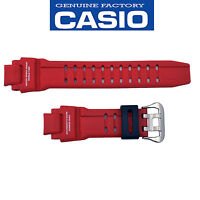 Casio G-shock Watch Band Strap Ga-1000-4b Original Red Rubber