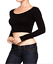 Round-Neck-Long-Sleeve-Tops-Women-Fashion-T-Shirt-Slim-Short-Casual-Blouse thumbnail 2