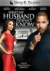 What My Husband Doesn T Know DVD 2011 Region 1 US IMPORT NTSC