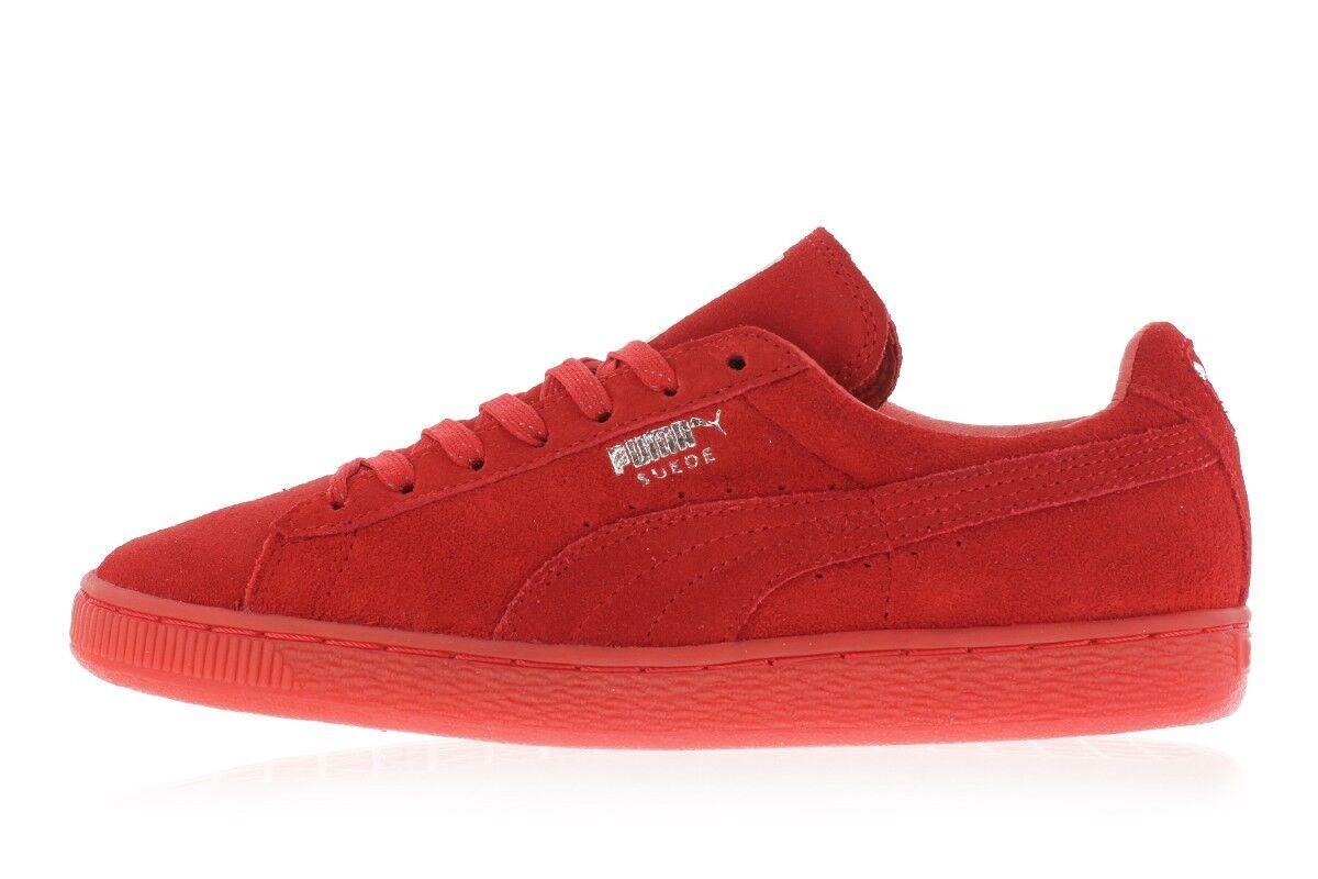 PUMA PUMA PUMA Suede Classic Mono Ref Iced high risk ROT-puma silver Herren Sneaker Gr.44 2a8c40