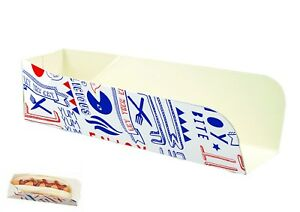 50-HOT-DOG-TRAYS-BOXES-PARTIES-BBQS-FAST-FOOD-PACKAGING