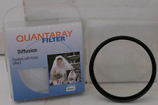 Quantaray 55mm Diff Diffusion Lens Filter with Case Made in Japan