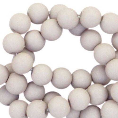 Ø 10 mm 50 Stück Acrylperlen bunt DIY Projekte Sadingo Acrylperlen matt