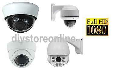 2.4 MP HD TVI 4 Ch 1080P Analogue PTZ  Security Camera Dome  CCTV Waterproof