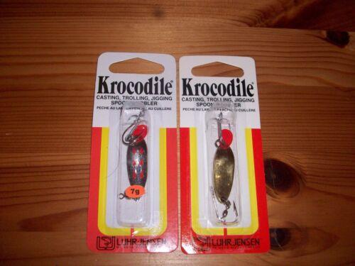 Luhr Jensen Krocodile Trolling Jigging Ice Fishing Trout Spoon jig 1//6 oz 2