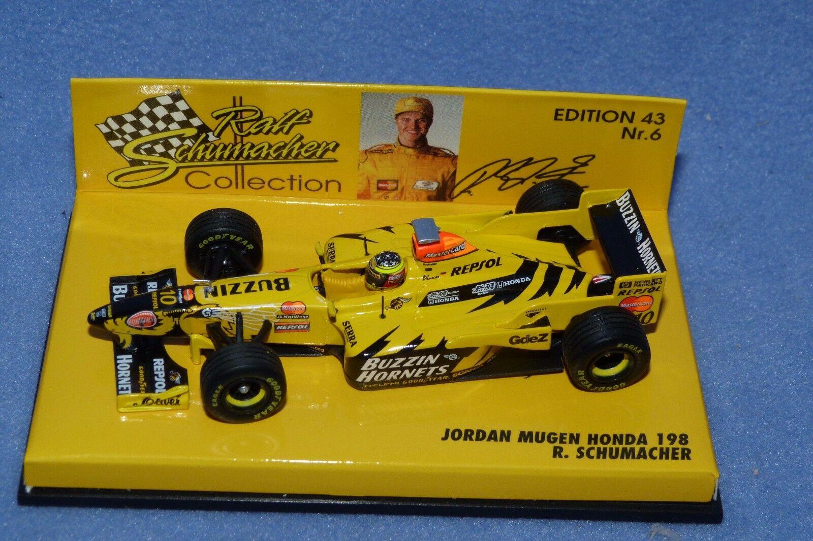 1 43 Ralf Schumacher Jordan Mugen Honda 198  F1 1998