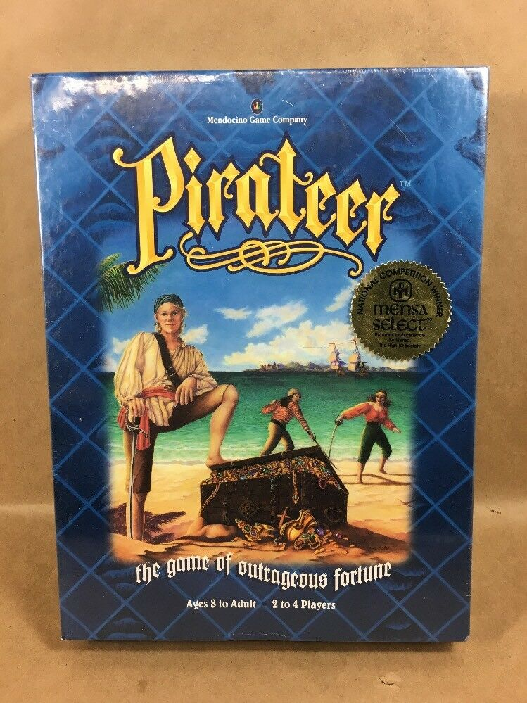 1994 Uomodocine - Pirateer - The Game of Outrageous Fortune - NEW Sealed