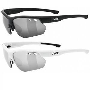 UVEX Sonnenbrille Sportstyle 115 weiß B0i3zW7YFw