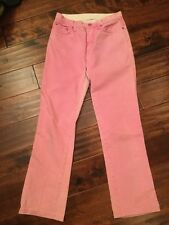 Etro Milano Pink Straight Leg Jeans, Size 27