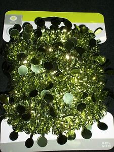 image is loading lime green 8 039 mini garland decor christmas