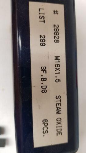OSG HY-PRO M16-1.5  D6 Tap 3 flute steam oxide