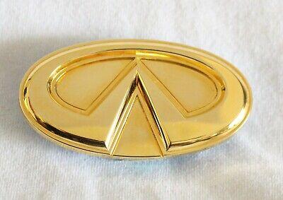 99-02 Infiniti G20 Front Grille Emblem Logo Nameplate Badge OEM Genuine Symbol