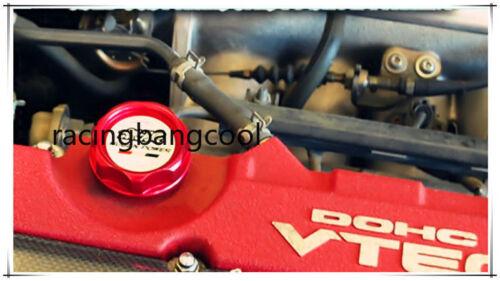 Mugen Racing Aluminum Engine Oil Cap Fuel Filler Tank Cover for Honda Civic