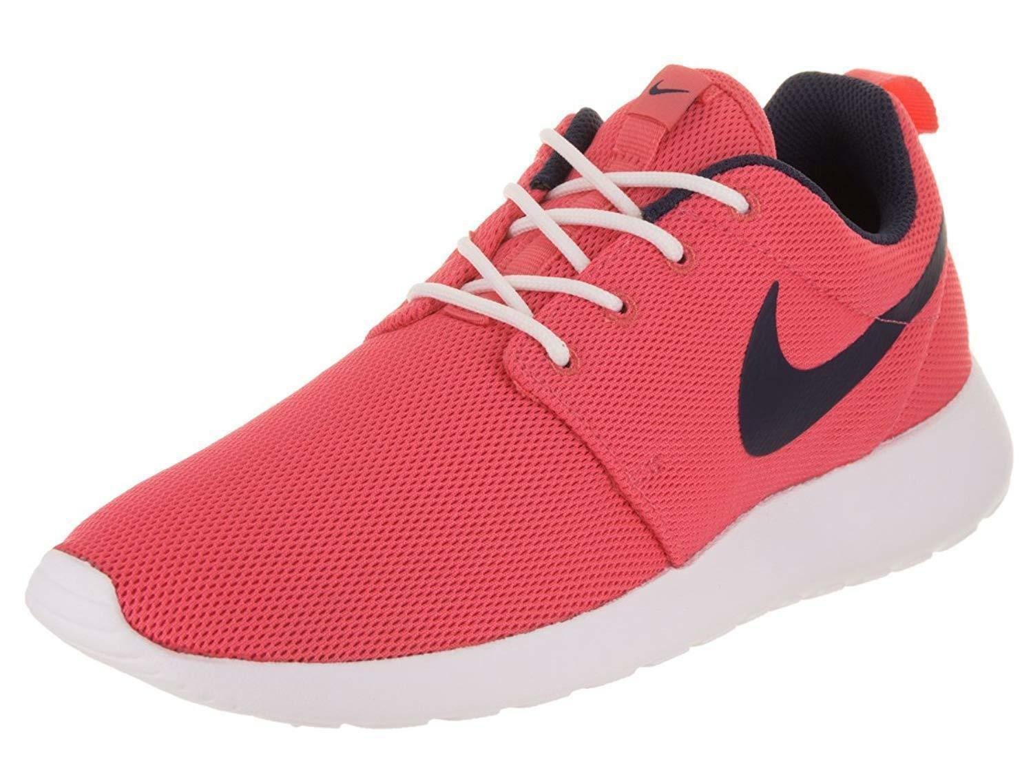 NIKE ROSHE ONE ONE ONE LOW SNEAKERS WOMEN SHOES pink BLACK 844994-801 SIZE 9 NEW 714b80