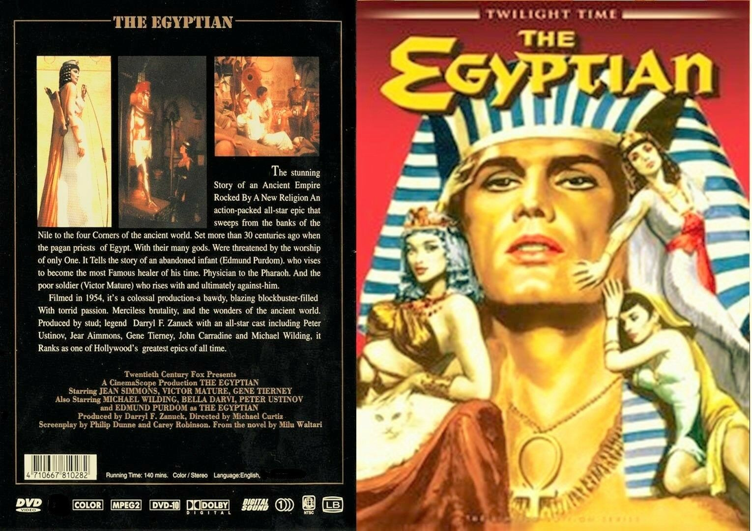 THE EGYPTIAN (1954) Victor Mature / DVD Twilight Times