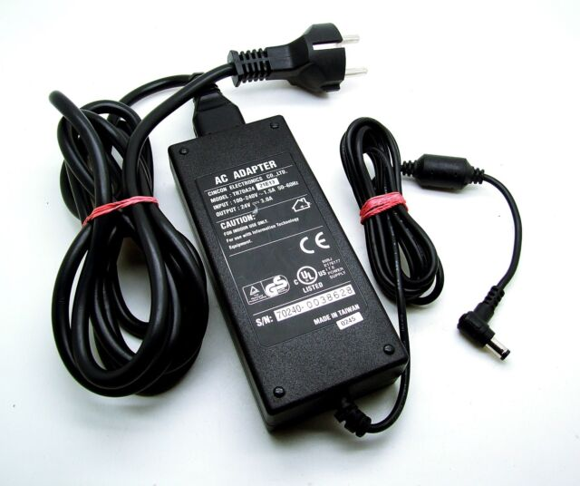 24V 2A AC Adapter Charger For DYMO LabelWriter 400 Turbo Label Printer Power PSU