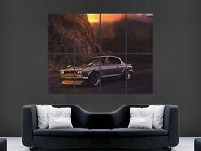 NISSAN SKYLINE 2000 GTX CLASSIC CAR POSTER WALL ART SUNSET MOUNTAINS IMAGE HUGE