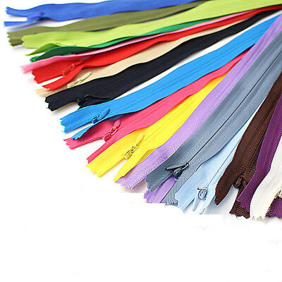 10pcs Invisible Zippers Tailor Sewer Craft(11-24 Inch)Crafter's FGDQRS