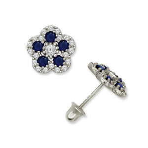 14k-Yellow-and-White-Gold-Birthstone-Colors-Flower-Stud-Earrings