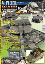 STEELMASTER 94 - Rad- und Kettenfahrzeuge Panzer Renault FT Jeep Somua Diorama