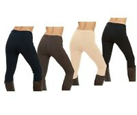 Sherwood Forest Yield Ladies Jodphurs With Belt Loops Navy Black Brown Apricot