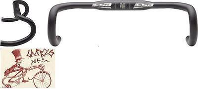 FSA GOSSAMER WING COMPACT 42MM--31.8MM BLACK ROAD DROPBAR BICYCLE HANDLEBAR