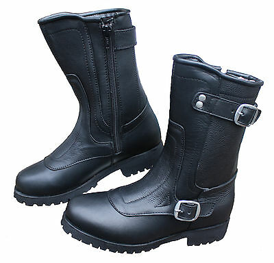 NEW WOMENS DIVA ENGINEER MOTORCYCLE BOOTS BEST LADY BOOT ON THE MARKET