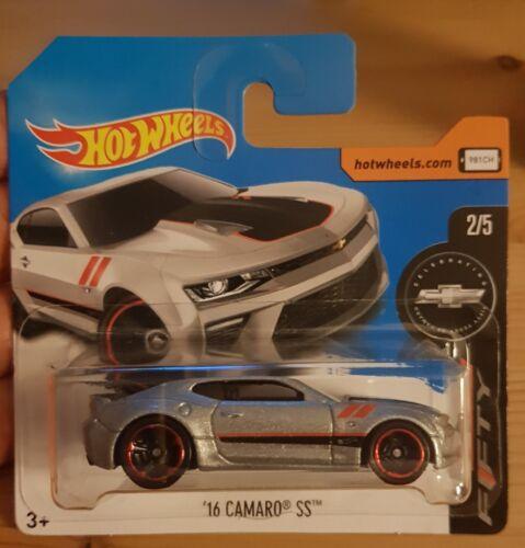 Hot Wheels 16 Camaro S S 2//5 1:64 155//365 2017 Mattel