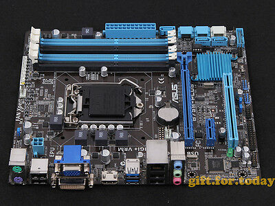 ASUS B75M-PLUS Motherboard Intel B75 LGA 1155 DDR3