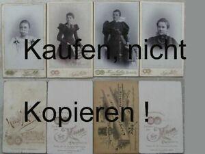 Foto-4-Fotos-CDV-1895-1905-Frauen-Hugo-Mueller-Freiberg