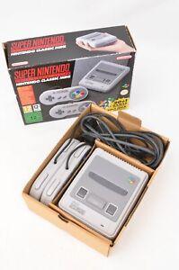 Super Nintendo Entertainment System Classic Mini Games Console - complete, boxed