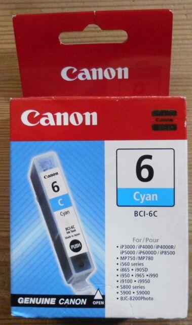 Original Canon BCI-6C Tinte cyan  für PIXMA iP3000 iP4000 iP5000 iP8500 4706A002