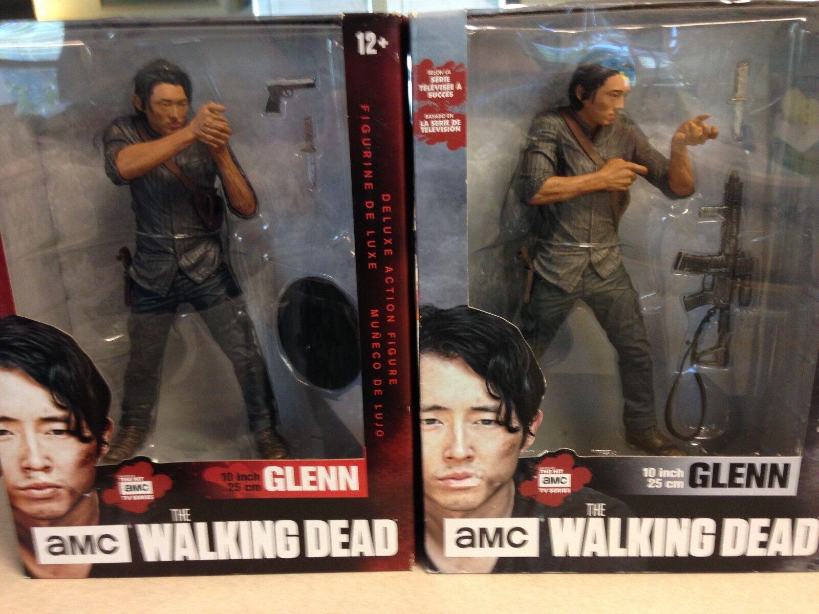 The Walking Dead 10  Glenn Figures  Two Glenn's  New