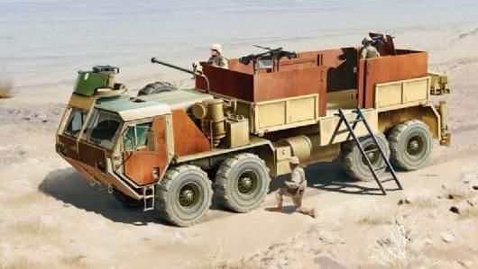 Hemtt Gun Truck Kit 1:35 Italeri IT6510