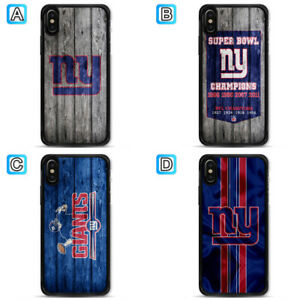 huge selection of 1db2b 50a4c Details about New York Giants Phone Case For Apple iPhone X Xs Max Xr 8 7  Plus 6 6s