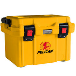Pelican ProGear Deluxe Cooler Ice Chest 20QT 20 Quart (Yellow)