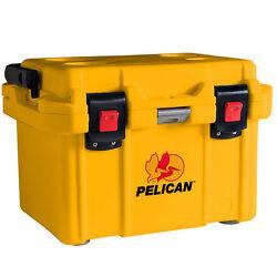 Pelican ProGear Deluxe Cooler Ice Chest 20QT 20 Quart (Yellow)