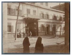 Egypte-Caire-Vue-de-la-ville-vintage-citrate-print-Tirage-citrate