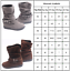 Womens-Winter-Solid-Flat-Buckle-Short-Snow-Boots-Warm-Casual-Fashion-Shoes-Size thumbnail 10