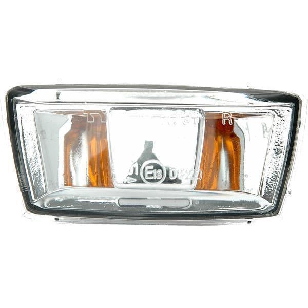 Seitenblinker klar grau rechts TYC für Opel Adam 12