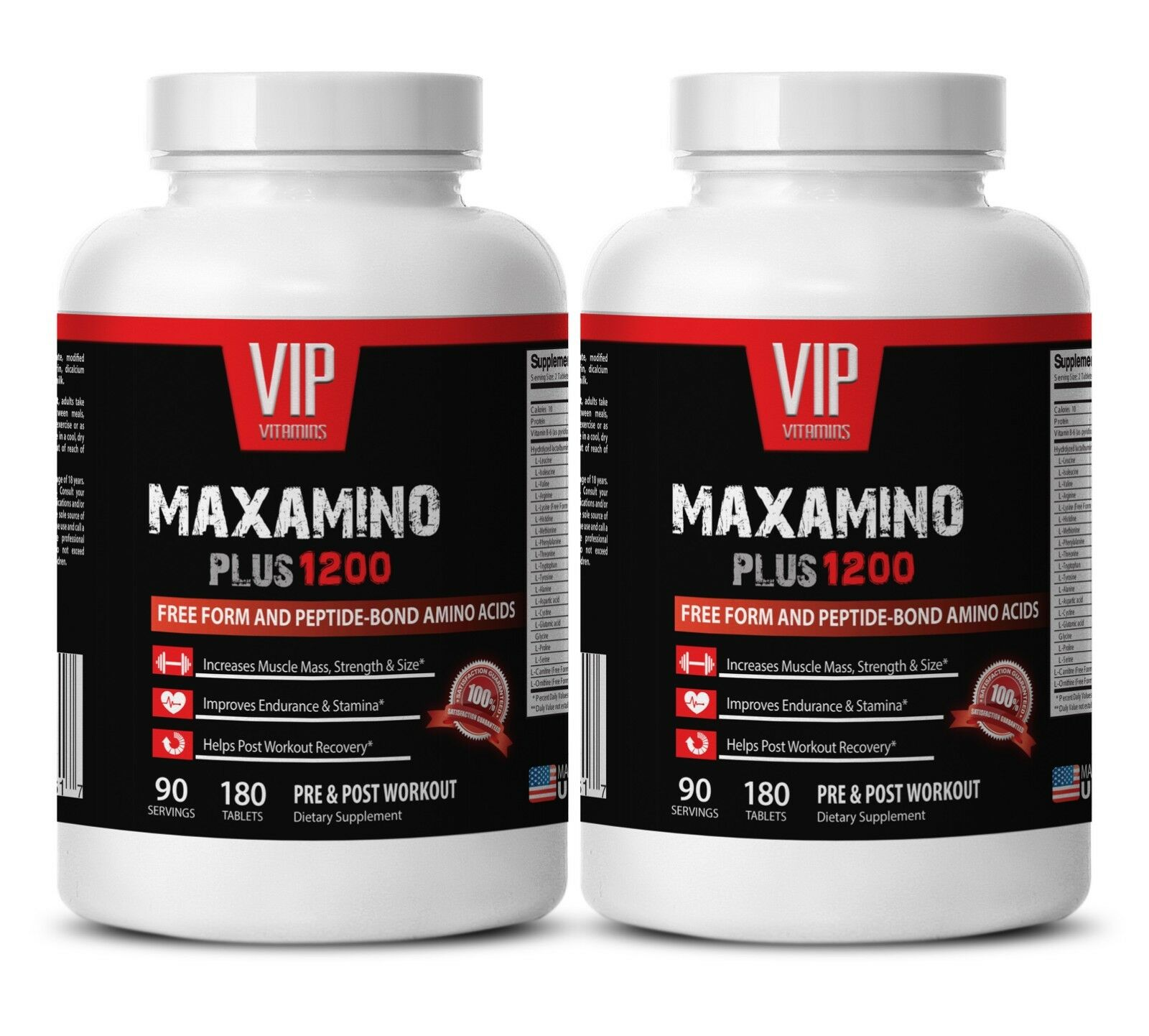 Post workout supplement - MAXAMINO PLUS 1200 2B- Muscle growth supplements