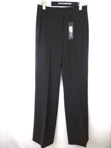 CAMBIO-Damen-Hose-Gr-36-Braun-Pant-Dezenter-Glanz-Stoffhose-Straight-NP-100-NEU